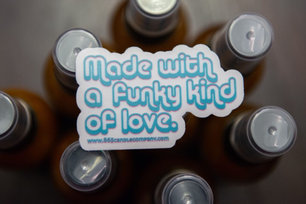 865 Candle Company Funky Love