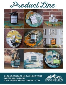 865 Candle Company Product Line
