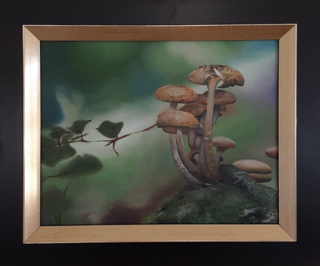 Artistic Escape Mushrooms
