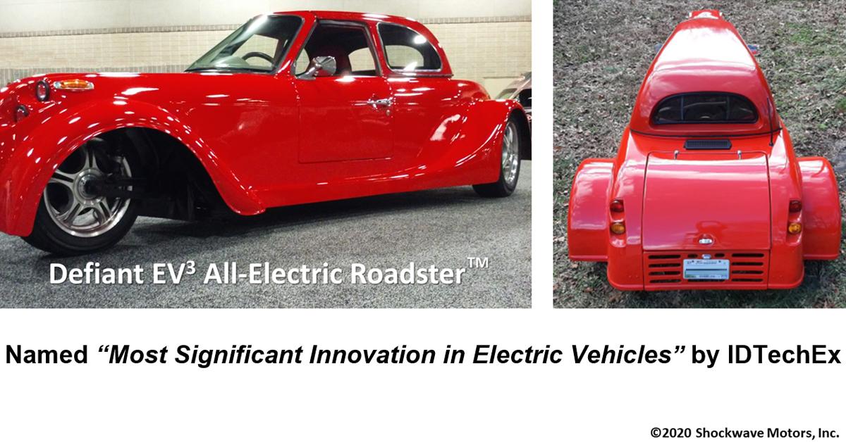 Shockwave Motors All-Electric Roadster