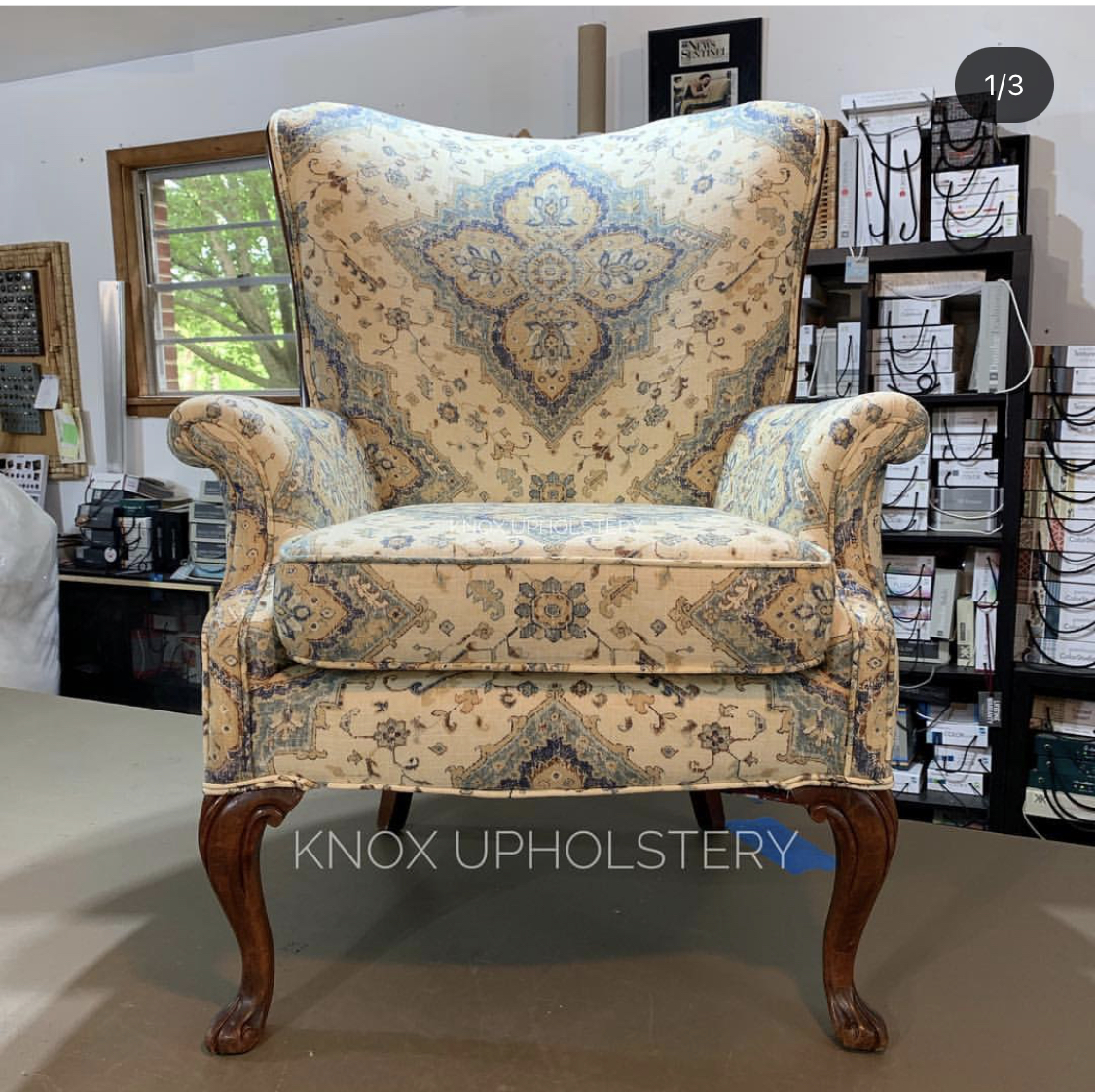 Knox Upholstery Chair 1