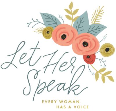 Let Her Speak  logo