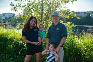 Mike & Megan Martin Family Photo