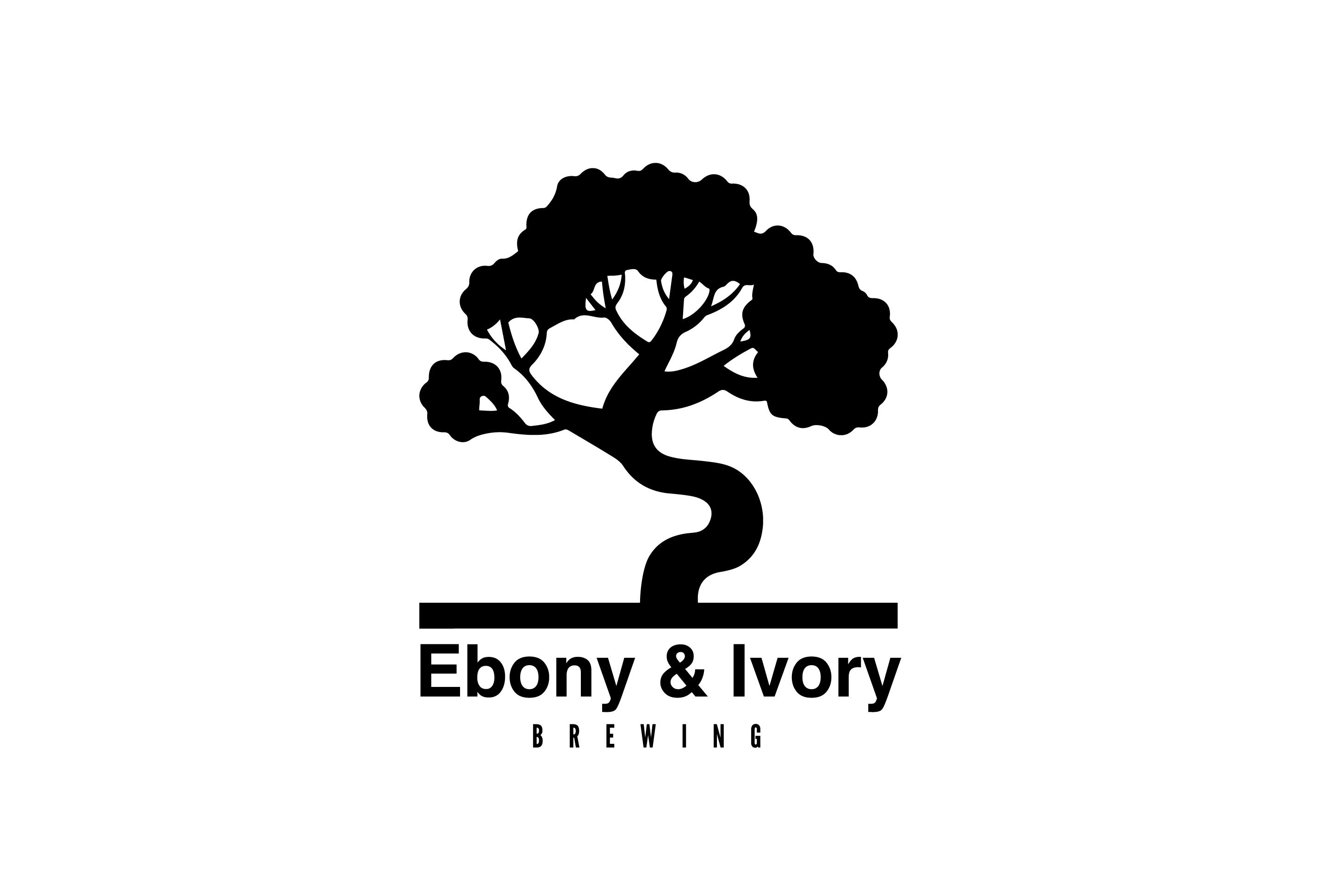 Ebony & Ivory Brewing Logo