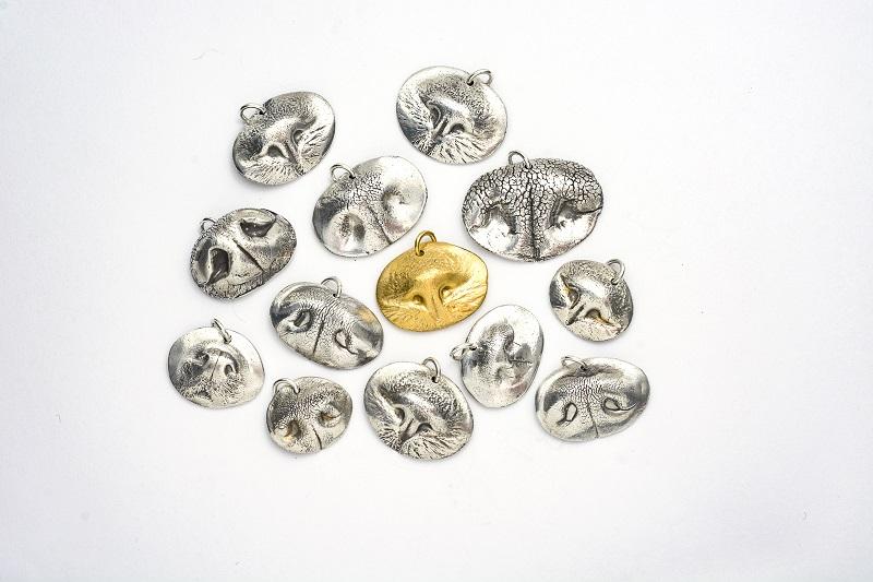 Precious Metal Prints Metal Pet Nose