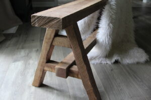 Wheat's Woodwork Wooden Bench